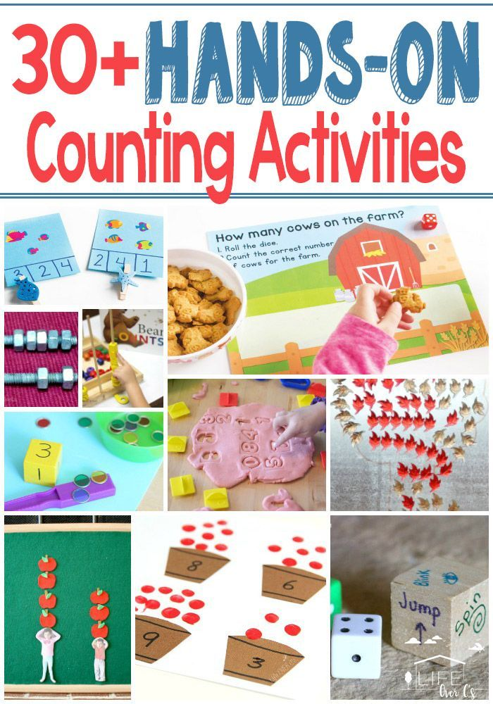 30+ Hands-On Counting Activities for Kids | Blogger ...