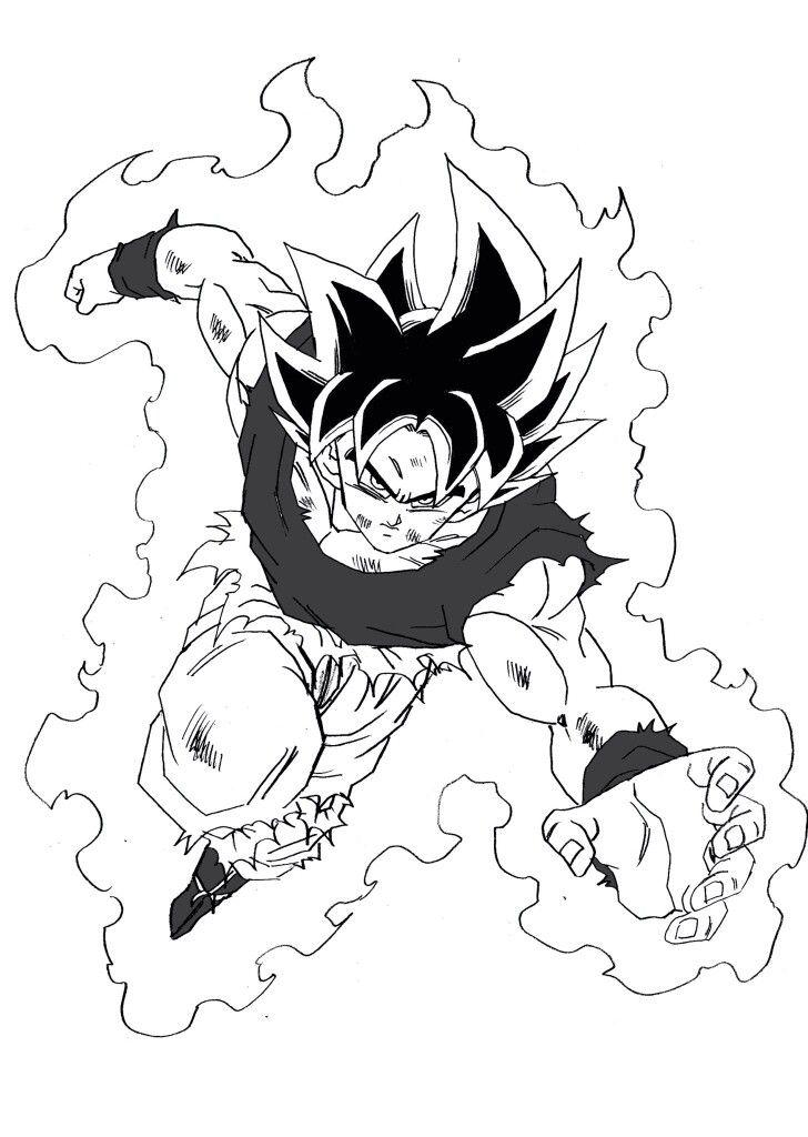 Pin De Ekko Secondzaun En Mi Práctica De Dibujo Dibujo De Goku
