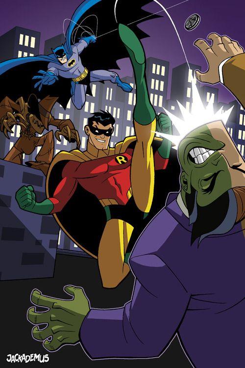Batman Robin The Brave And The Bold Batman Universe Batman