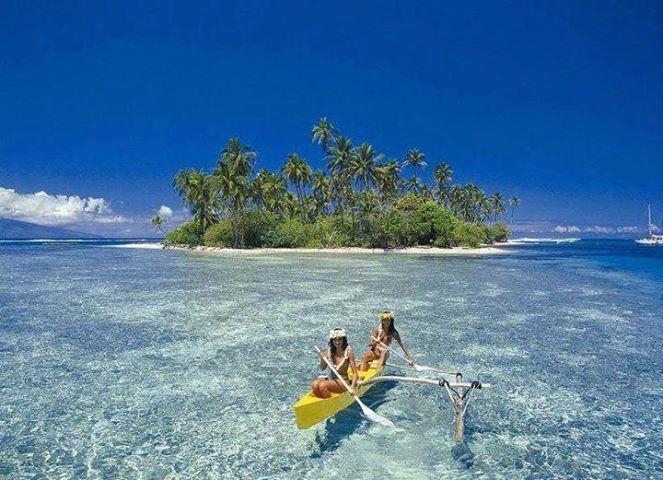 Polinesia #magariungiorno