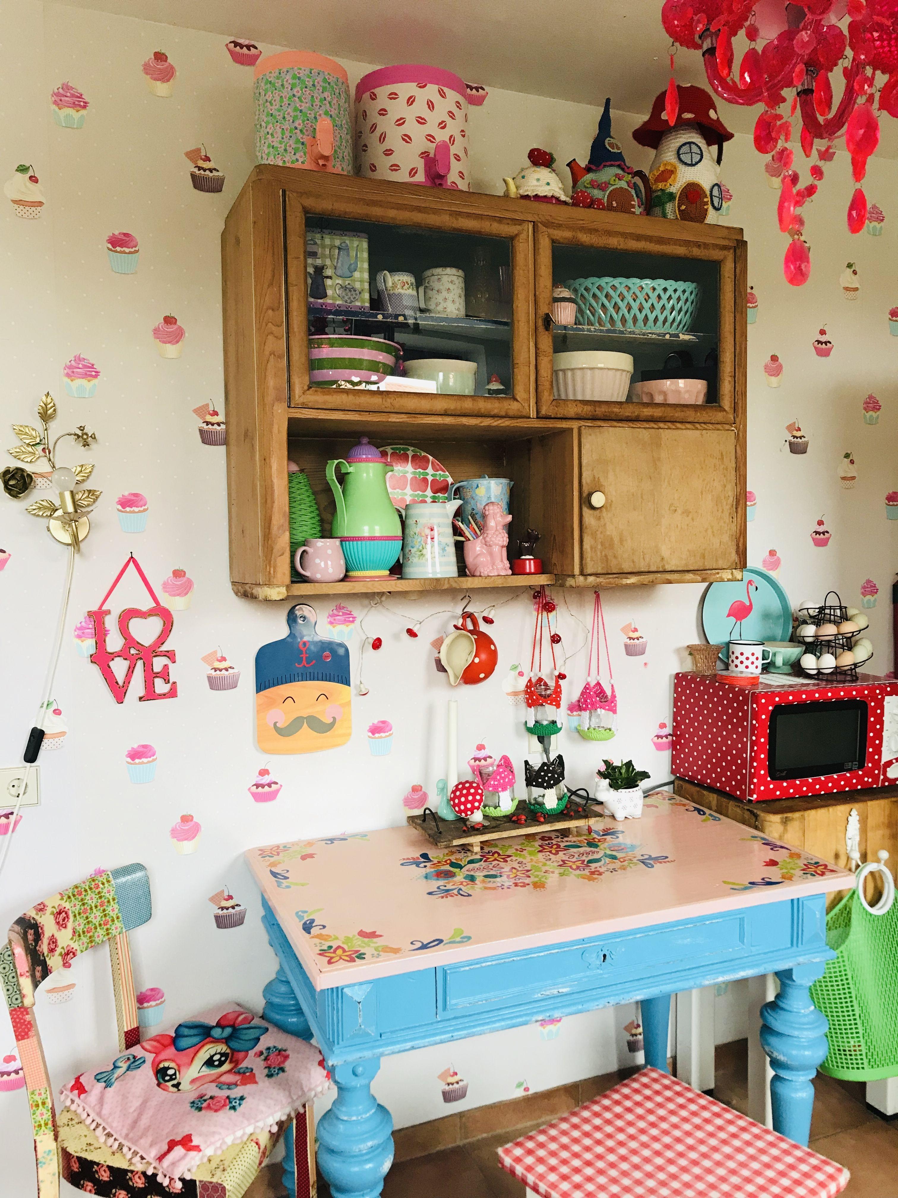 Colourful Kitchen Bunte Kuche Bunte Kuche Dekor Kuche