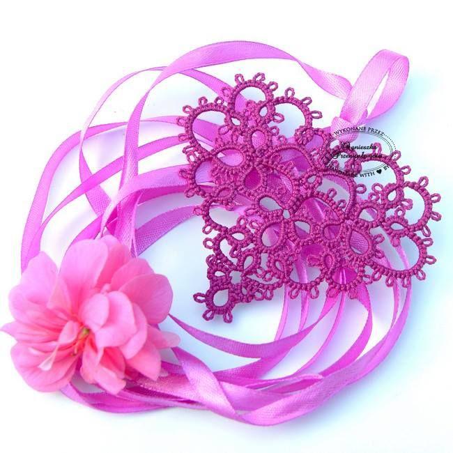 http://vilushka.ru/frivolite/hearts.html Looks like heart from free ...