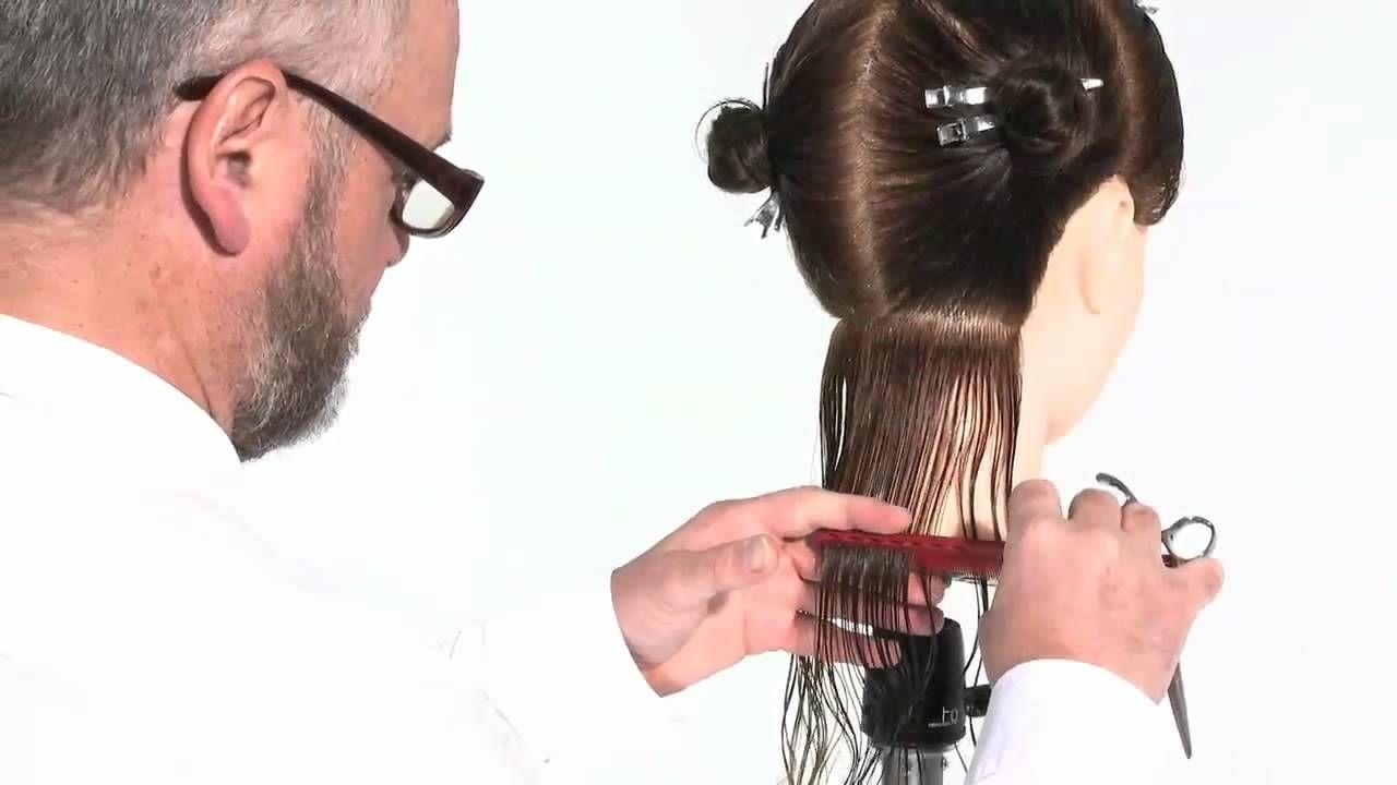 How to cut women's hair - Basic Uniform Layer Haircut ...