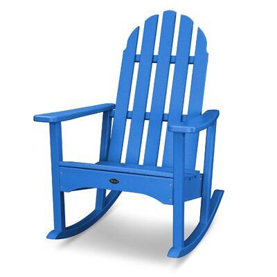 Prime Trex Cape Cod Recycled Plastic Rocking Adirondack Chair Pdpeps Interior Chair Design Pdpepsorg