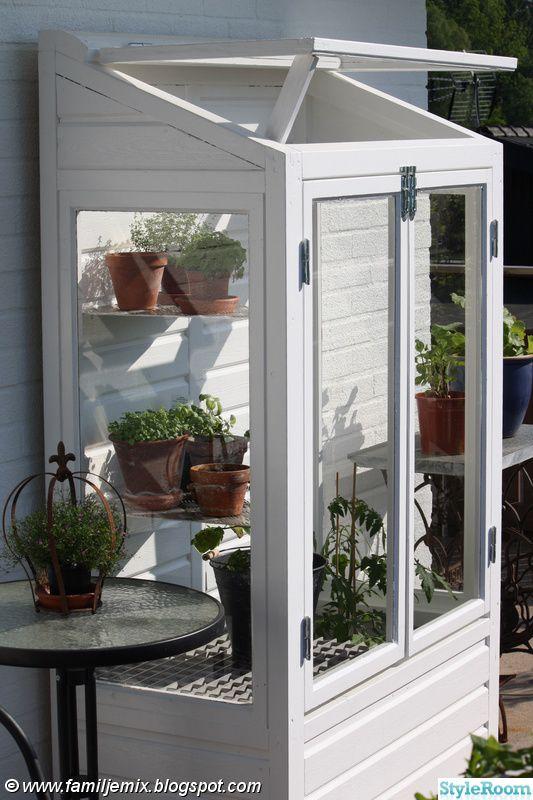 att bygga ett odlingsvitrin pinterest serre jardin abris de jardin et terrasses. Black Bedroom Furniture Sets. Home Design Ideas