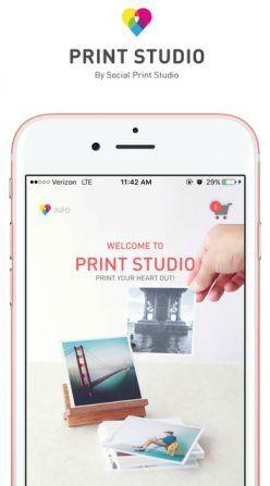 Prynt Pocket iPhone Printer Set in color Light Gray