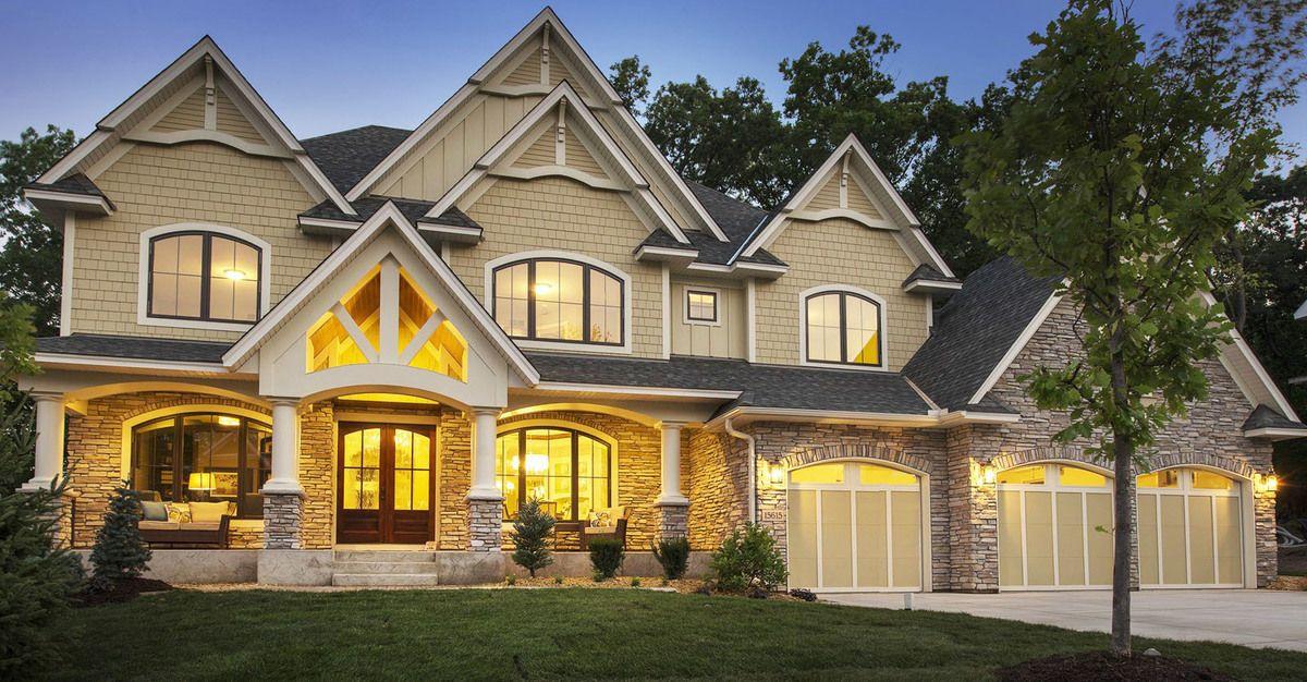 Gorgeous Gabled Dream Home Plan