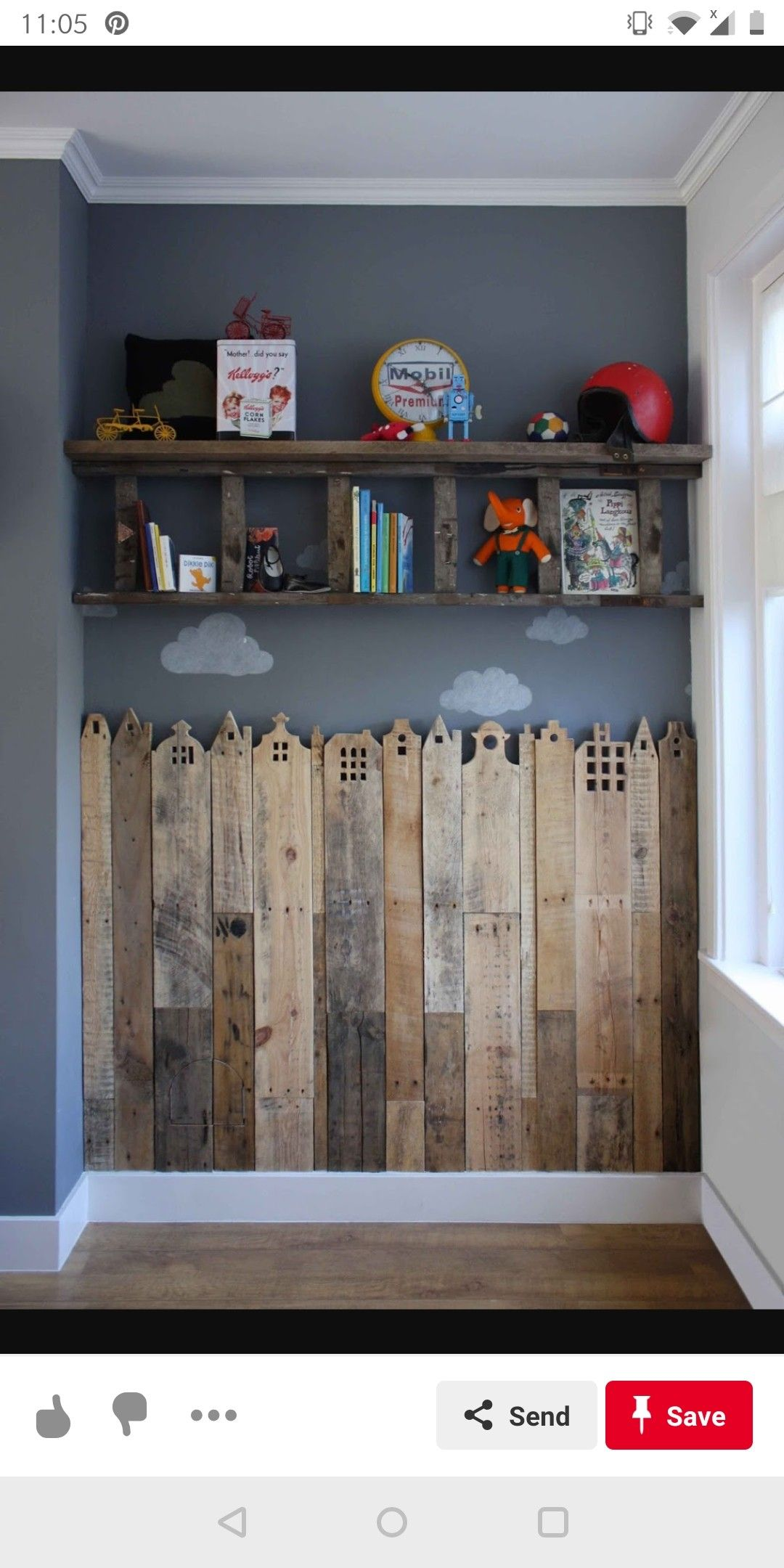 Add Little Opening Doors On Hinges All The Way Up (With