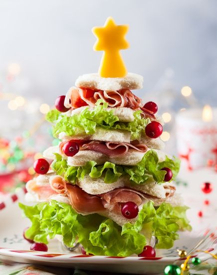 The Christmas Tree Sandwiches Recipe your guests will love