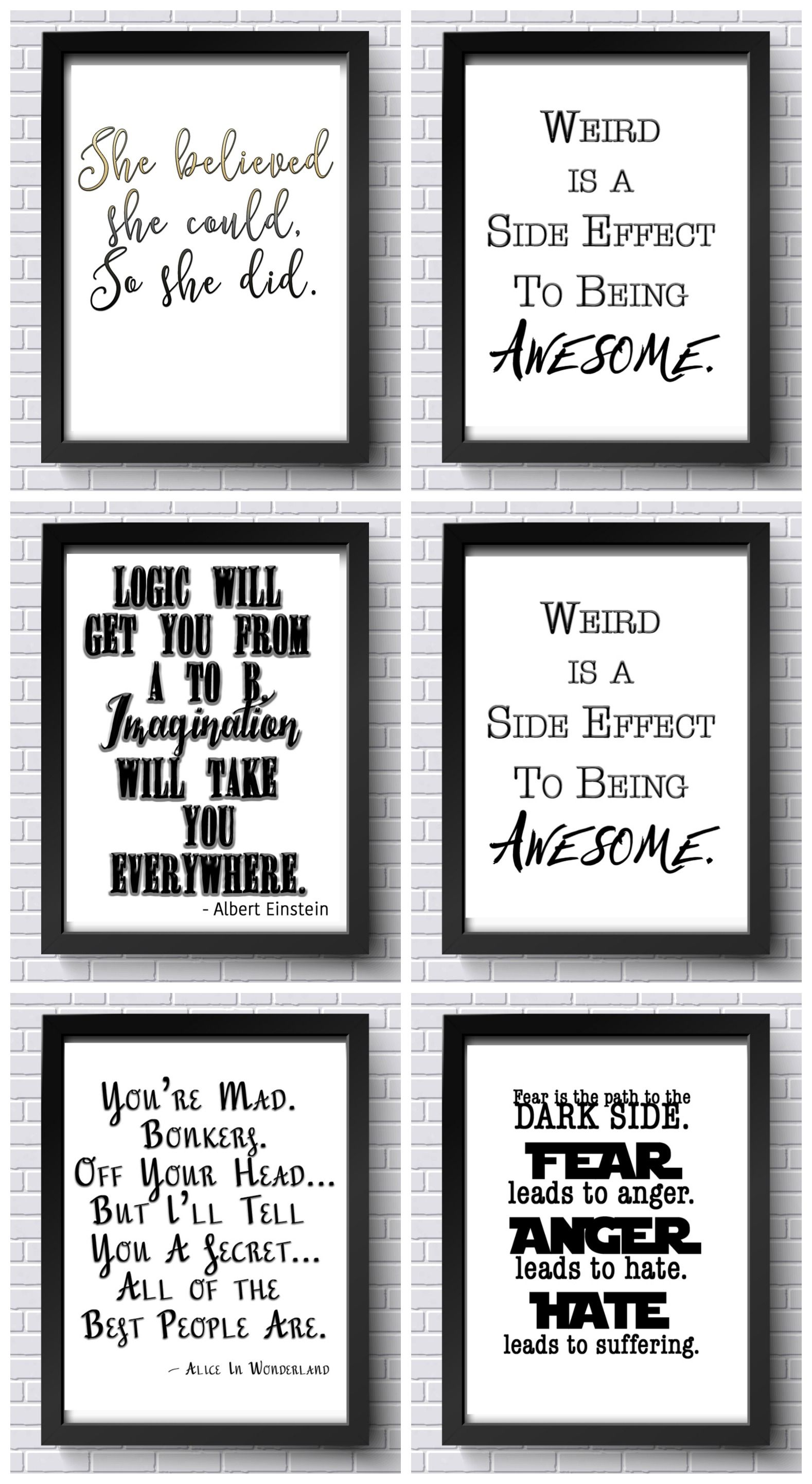 Free Inspirational Printables! Free Office Printables ...