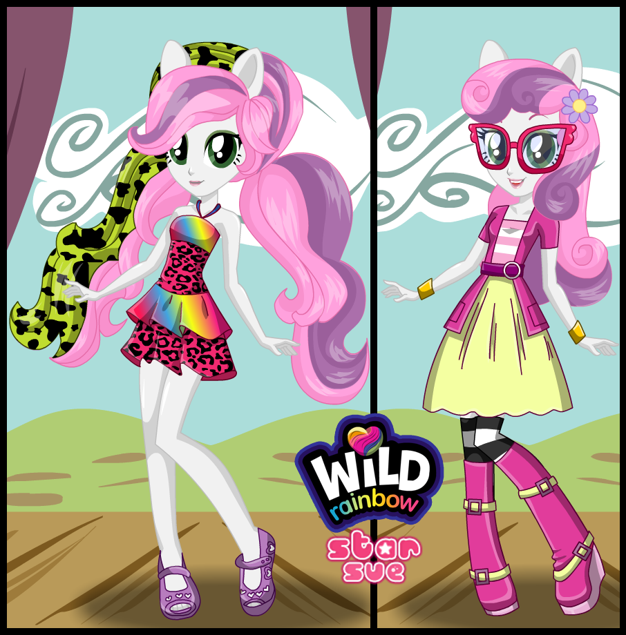 My Little Pony Equestria Girl Dress Up Game Star Sue