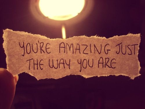 Pin By Metta Zetty On Life Facebook Cover Photos Inspirational Just The Way You Are You Re Awesome