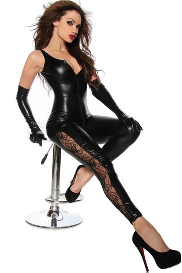 Guide to wet look lingerie: wet look mini dresses, sexy latex gloves?, wetlook catsuits