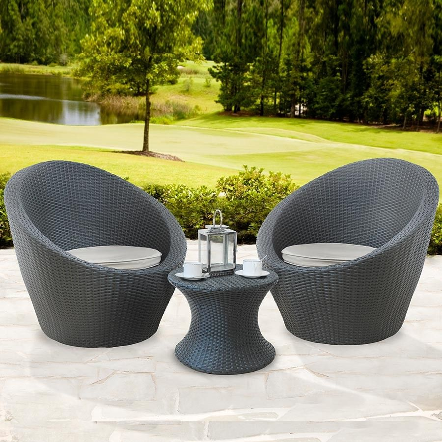 Rattan Egg Chair Set Rattan Bistro Egg Set Robert Dyas Outdoor Living Garden