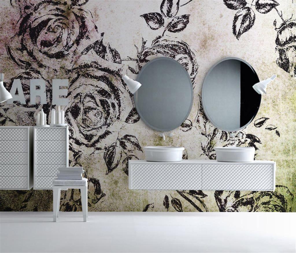 BADKAMER behang | Designwebwinkel | Clínica ArtDentalMadrid ...