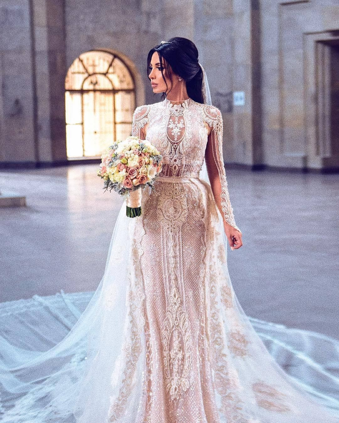 Custom Long Sleeve Wedding Gowns You Can Afford Designer Wedding Dresses Wedding Dresses Long Sleeve Wedding Gowns