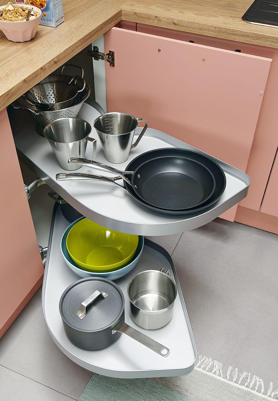 Clever-Kitchen-Storage. Schuller Le Mans Corner Unit ...