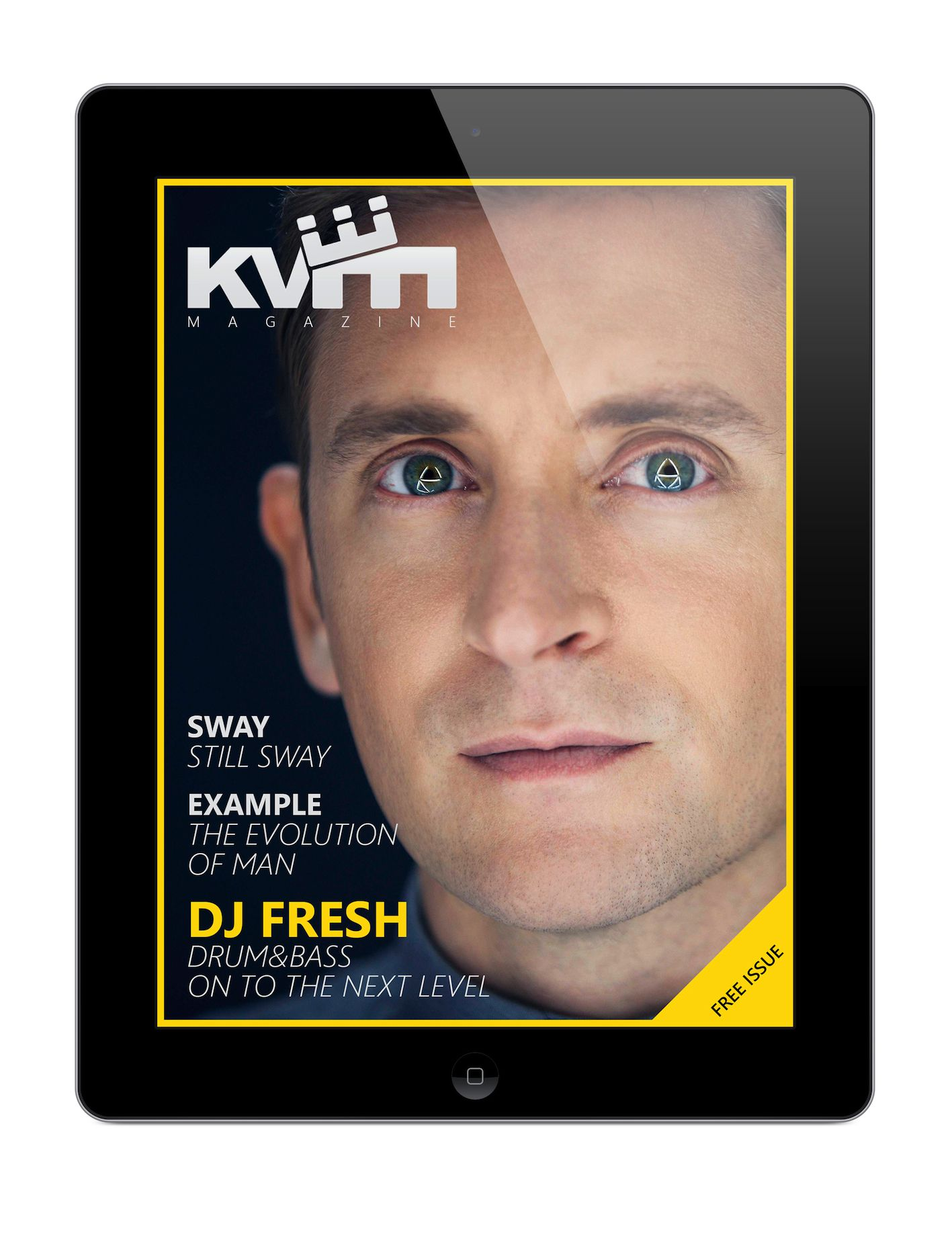 KVM iPad Magazine issue 1 cover