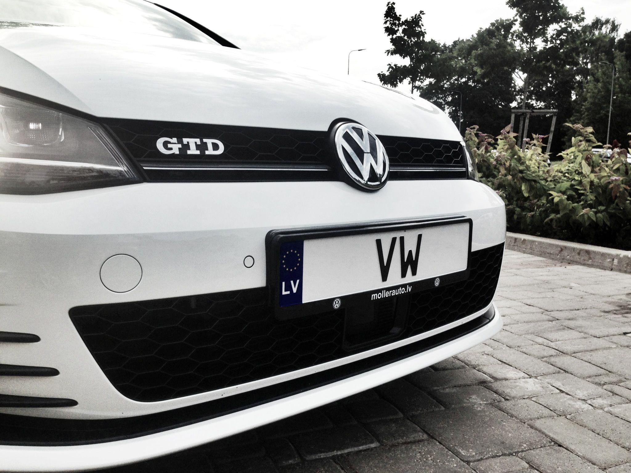 #VW #GOLF #7 #GTD