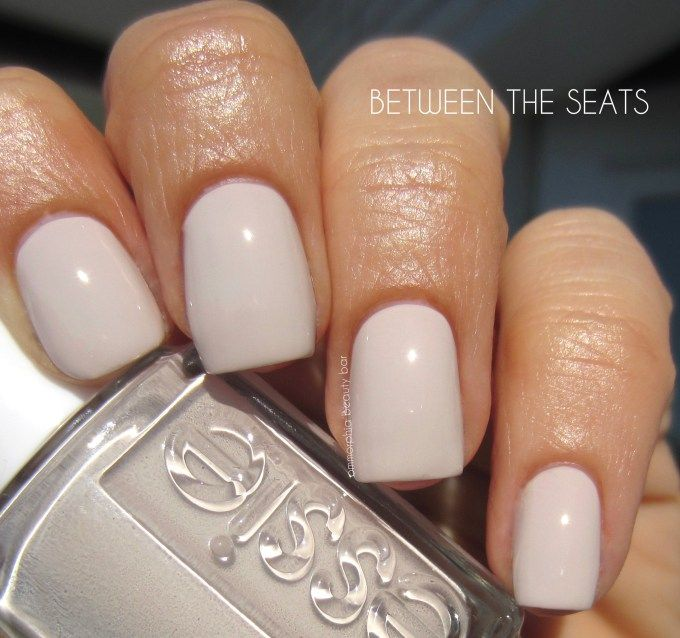 Essie between the seats | Love. | Pinterest | Esmalte, Esmalte uñas ...