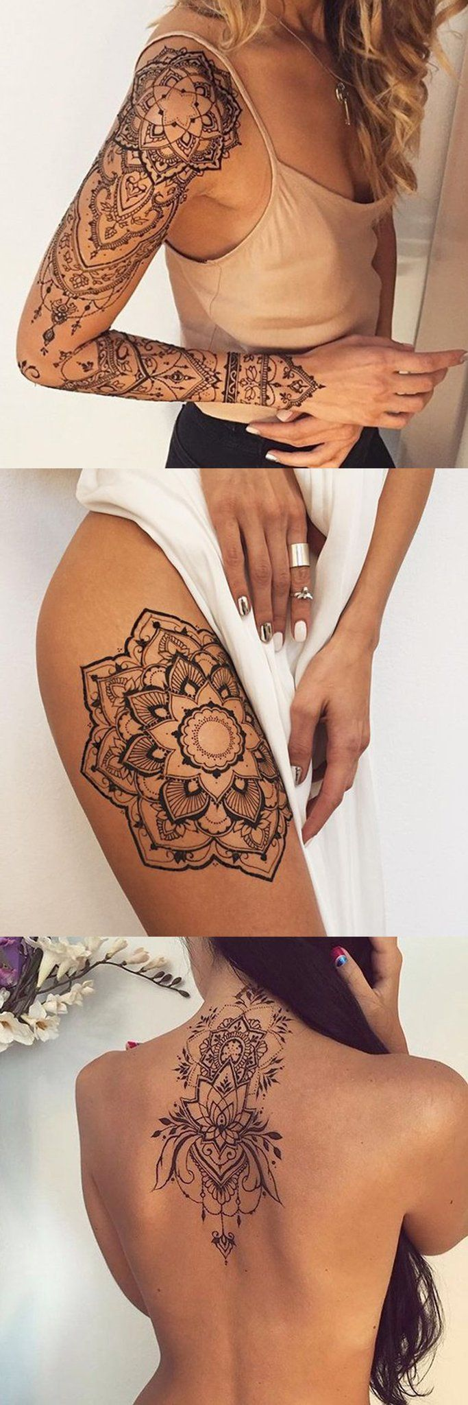 30 mandala tattoo ideas that will always be popular. Black Bedroom Furniture Sets. Home Design Ideas