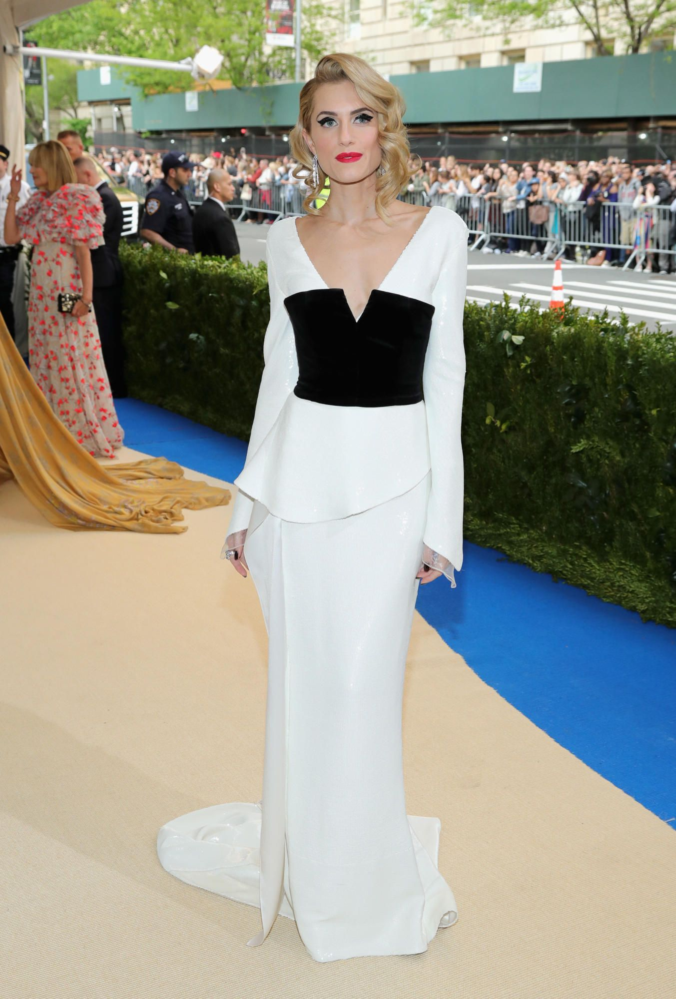 Allison williams wedding dress  Every Look From The  Met Gala Red Carpet  Allison williams