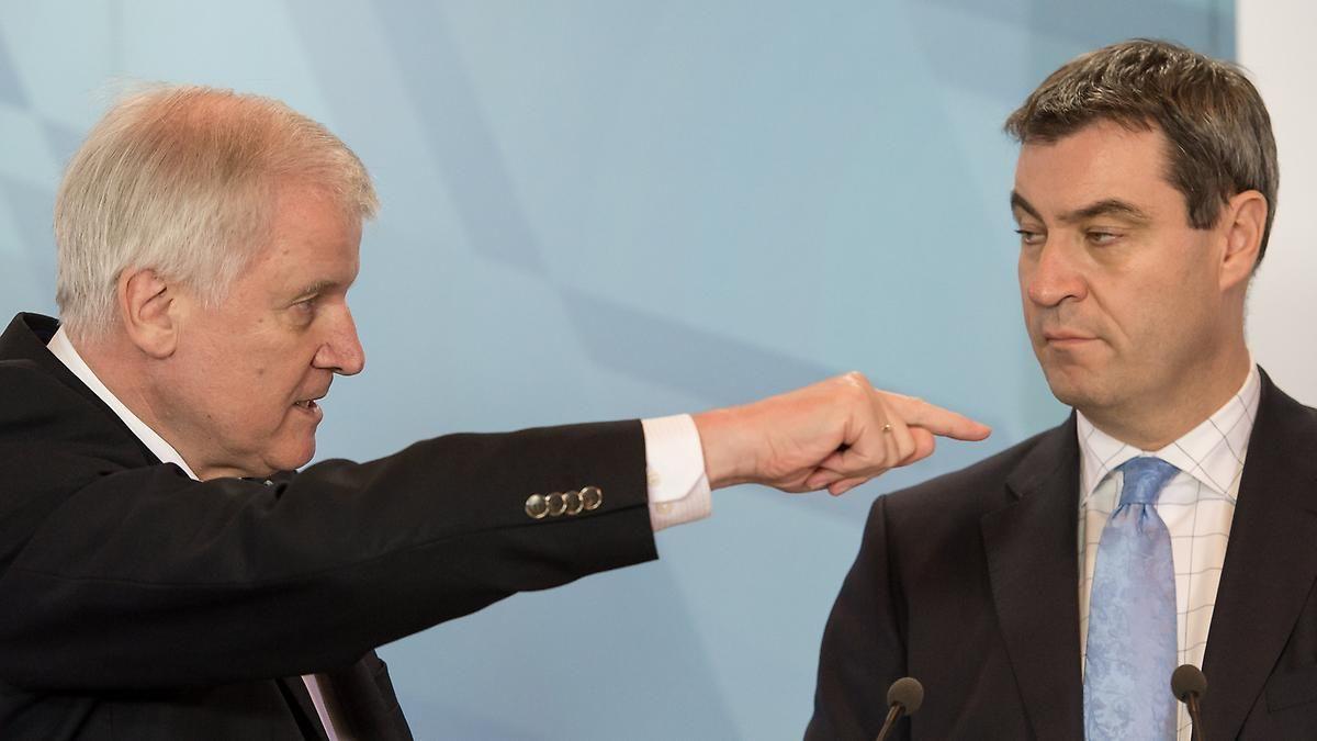 """""""Spitzentreffen"""" der Konkurrenten: CSUler wollen Seehofer und Söder versöhnen"""