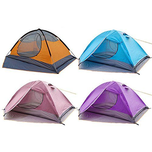 Doublelayer Triple Outdoor Camping Tent For 3 Person * You can get more details by clicking on the image.