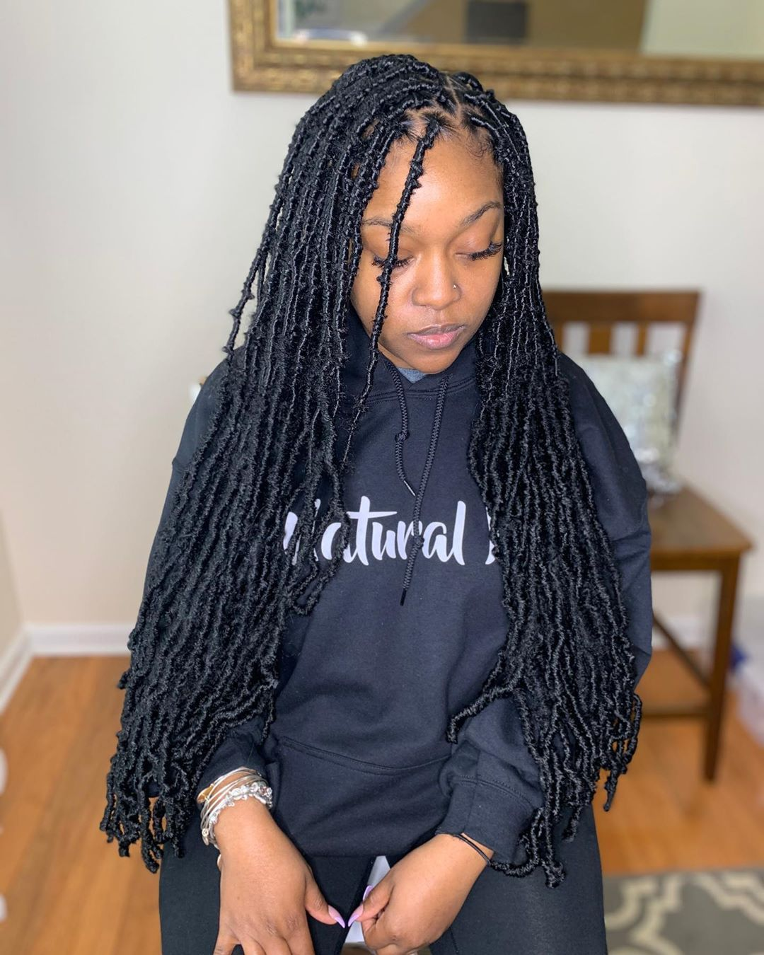 Glambysham On Instagram Waist Length Soft Locs Appointments Available Dm Text To Book In 2020 Short Hair Designs Braids Hairstyles Pictures Locs Hairstyles