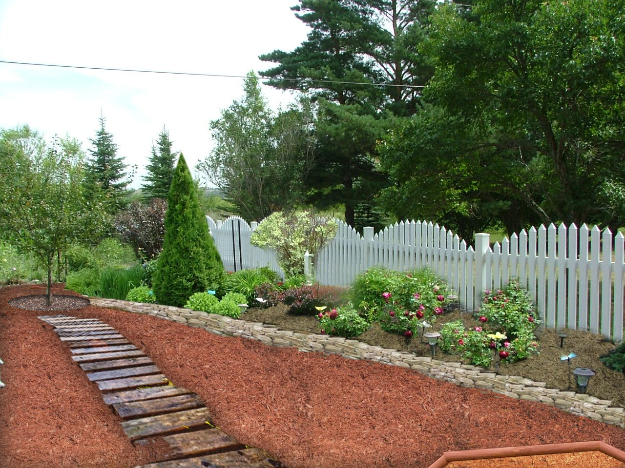 mulch landscaping ideas | ... is my second idea ((virtual ...