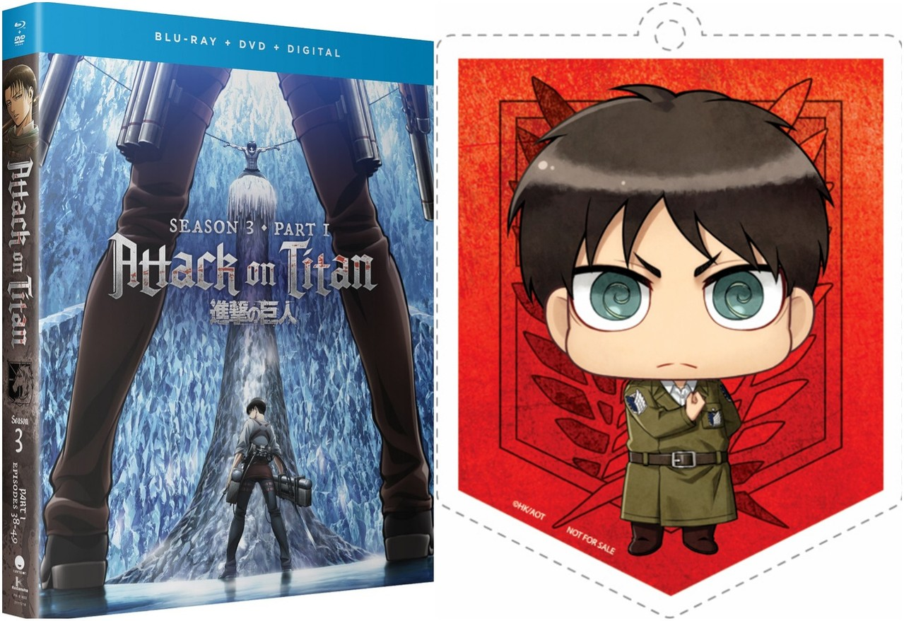 Preorder and get this RightStuf exclusive acrylic Eren