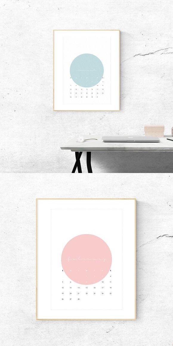 Printable 2017 Wall Calendar  Calendar Templates Calendar