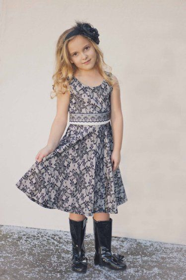 39ffe094e3 Tween Black Lace Dress   Cardigan Set 7 to 16 Years Now in Stock ...