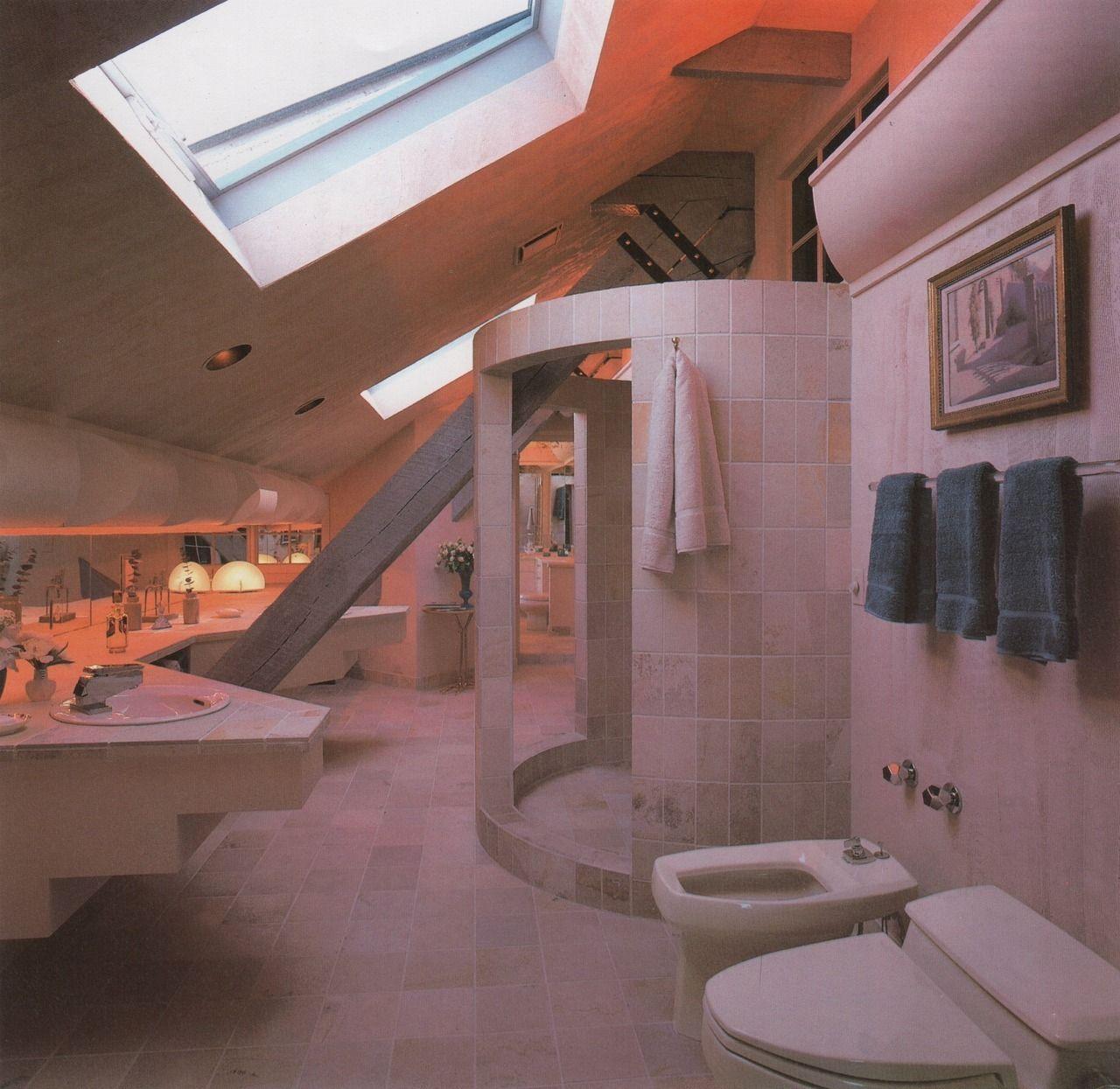 Mondo80s90spictorama Palmandlaser From Bath Design 1986 Got A Real Total Recall Vib Bathroom Interior Design Retro Interior Design Top Bathroom Design