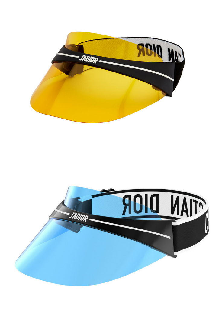 905eebdec048a Dior Club1 visors yellow and blue. Which one will you get