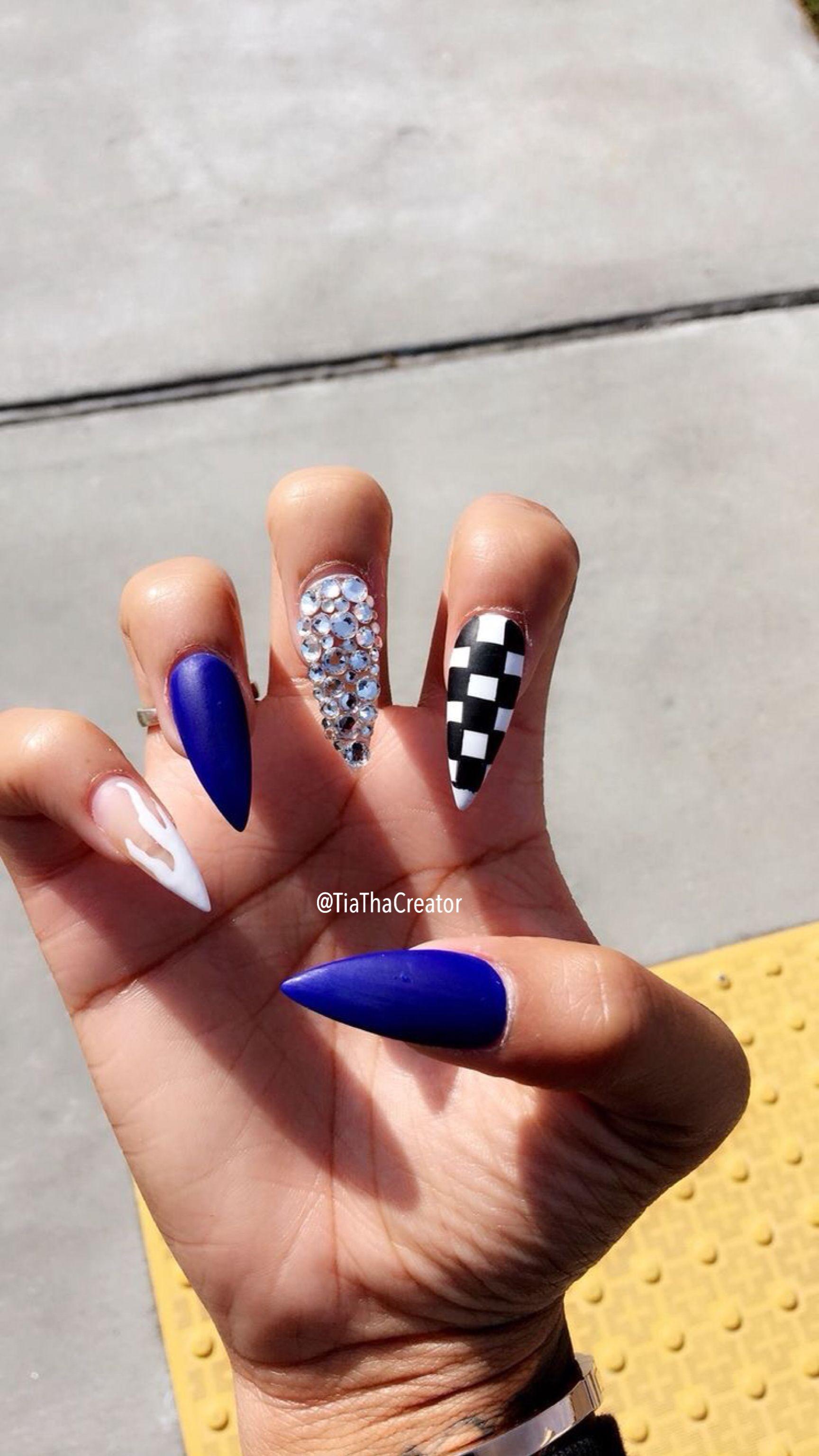 Pin by Katia....🥀 on ᑎᗩIᒪ$   Pinterest   Nail inspo, Nail nail ...