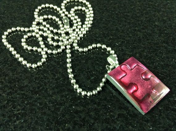 Handmade Autism Jewelry  Autism Pendant  Autism by CRNineDesigns, $15.00