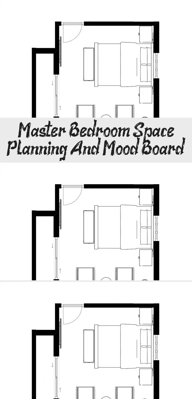 Master Bedroom Space Planning And Mood Board Pinokyo In 2020 Space Planning Mood Board Master Bedroom Design