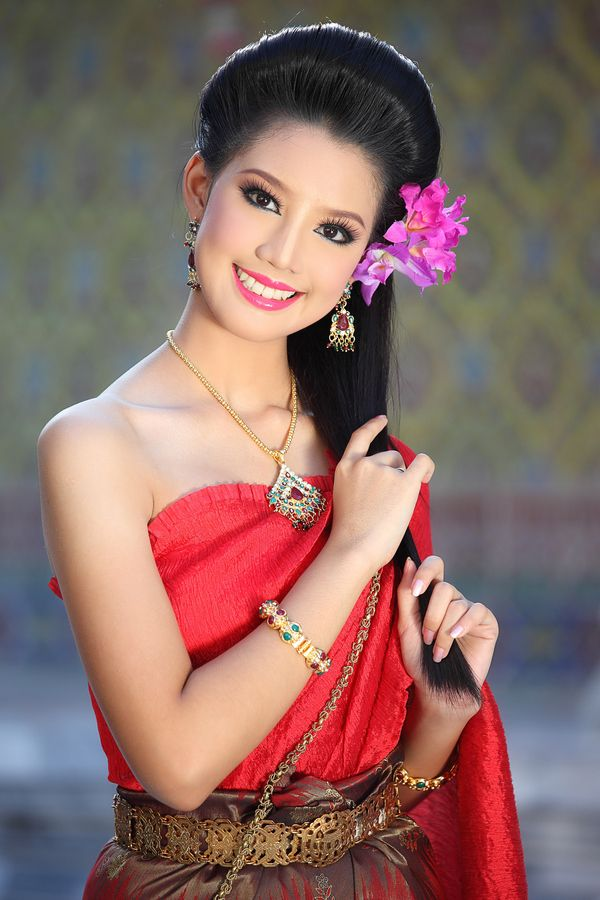Thai Traditional Dress By Vichaya Pop On 500px