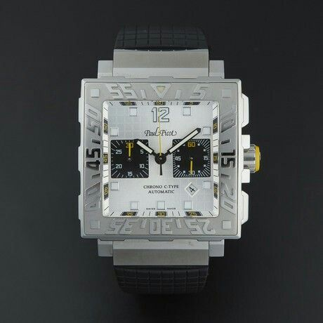 Paul Picot C-Type Chronograph Automatic // 0830 SG // Pre-Owned