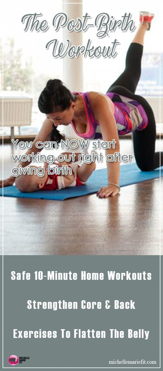 Pin on Post Pregnancy Weight Loss & Workouts