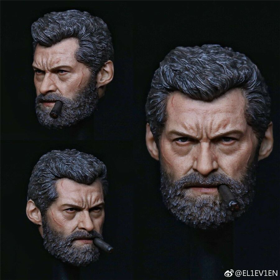 IN-STOCK 1//6 Eleven Logan Full Figure Toys Set Hot Wolverine Without Angry Head