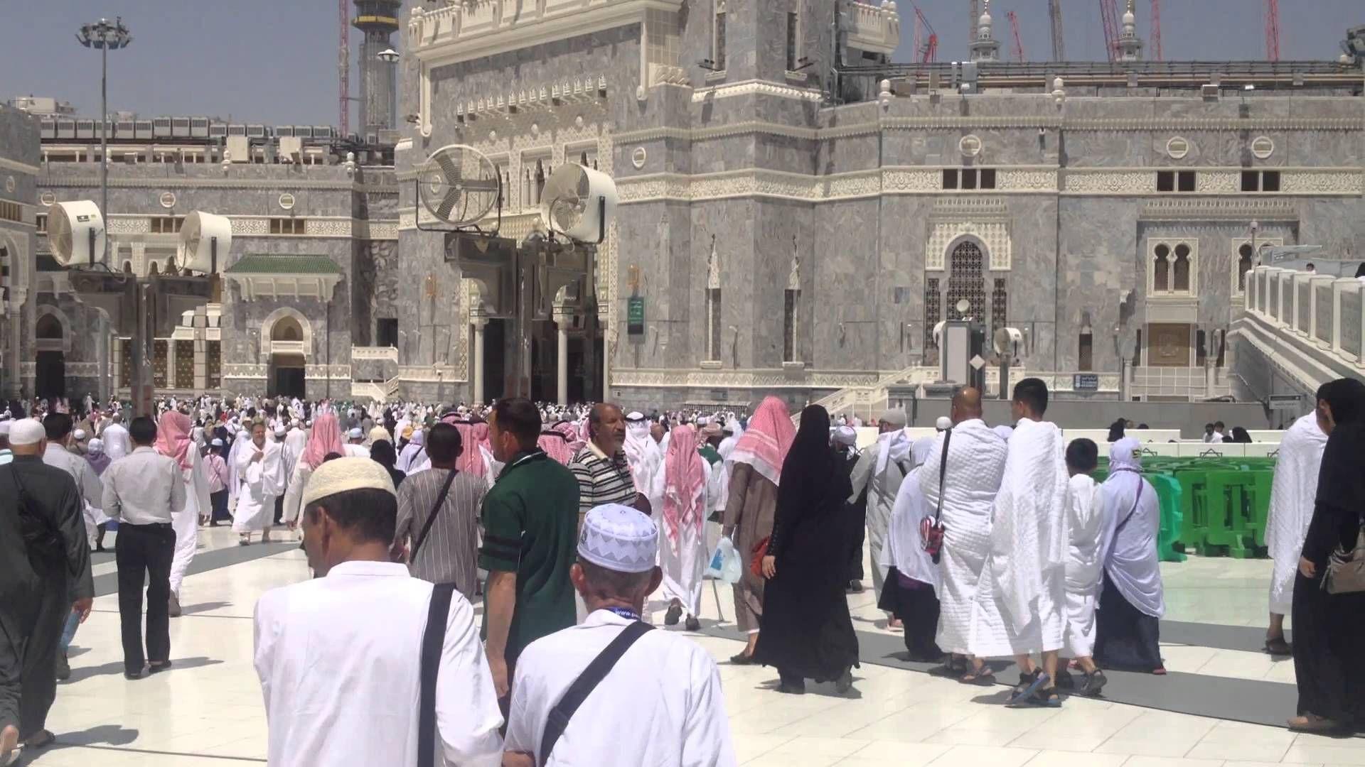 Jenazah Untuk Di Sembahyangkan Masjid Al Haram Makkah Pemakaman