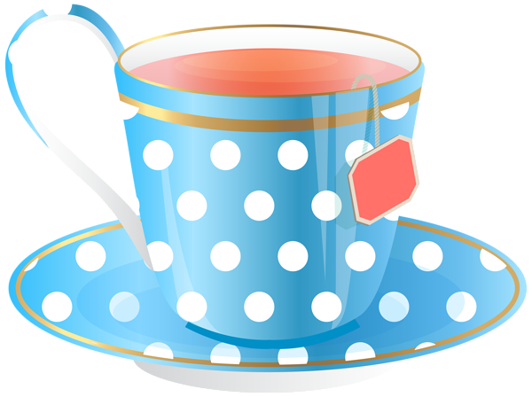 Blue Tea Cup PNG Transparent Clip Art Image | ~ Coffee ...