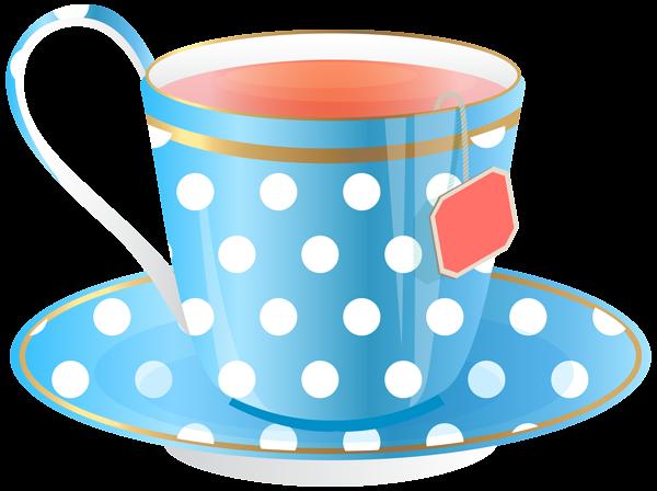 Blue Tea Cup Png Transparent Clip Art Image Blue Tea Cup Tea Cups Clip Art