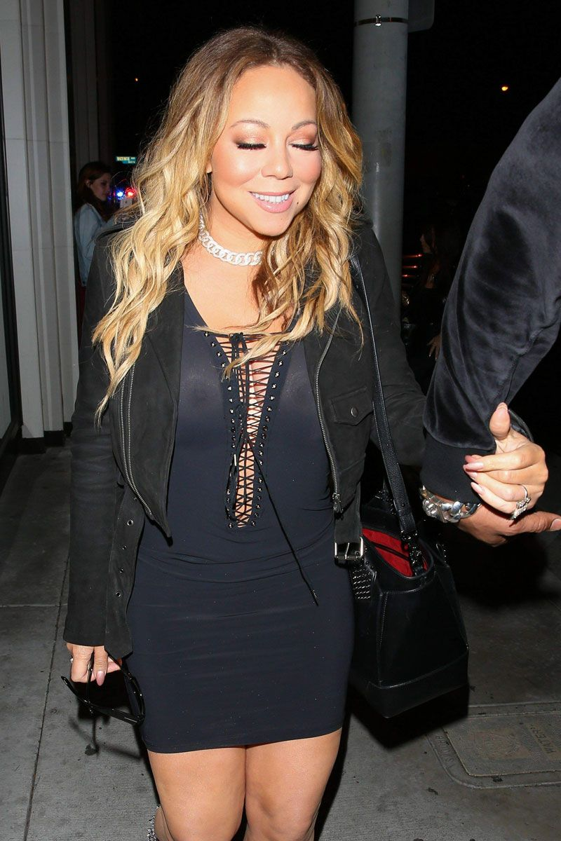 Mariah carey nipple