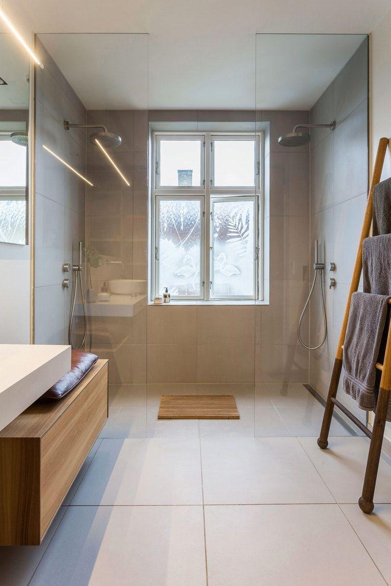 Badezimmerdesign 7 x 5 badeværelse der samler familien  bobedre  home remodeling in