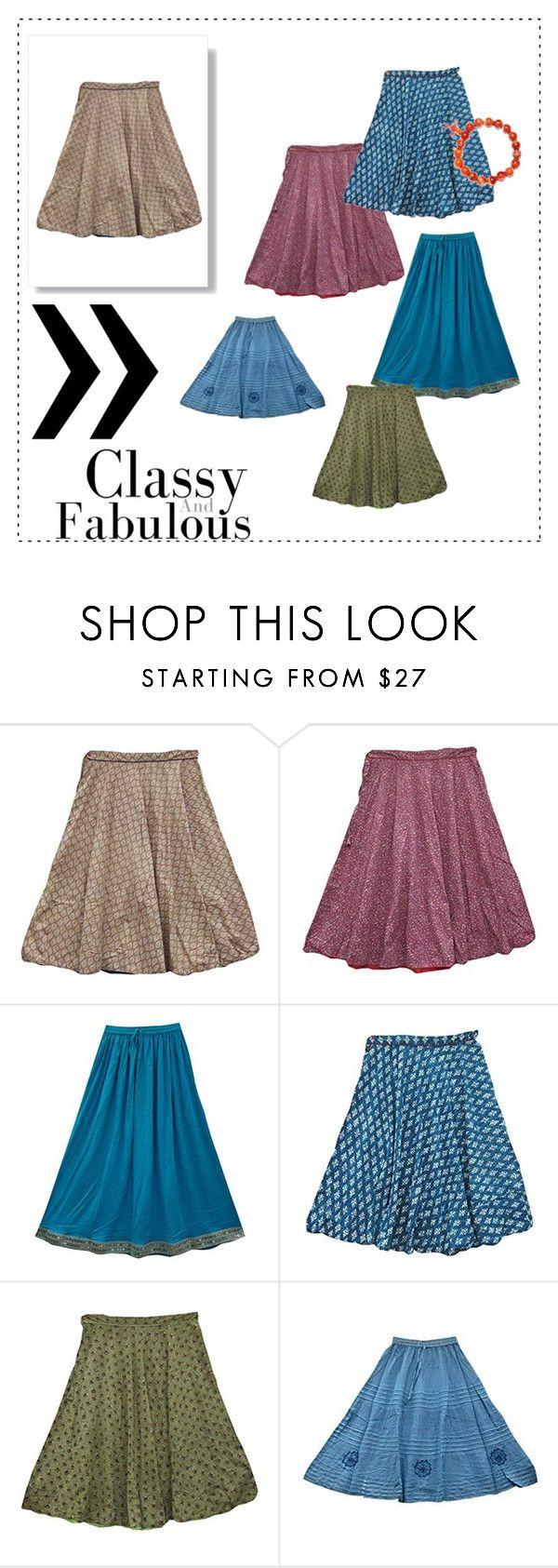 Womens Boho Fashion Skirts by tarini-tarini on Polyvore