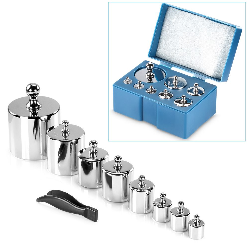 sale neewer 8 pieces 1000g stainless steel calibration