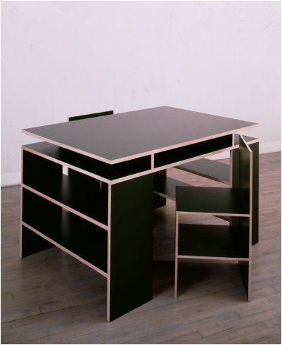 Contemporary furniture. Donald Judd   Black finland color plywood   COLOR   Pinterest